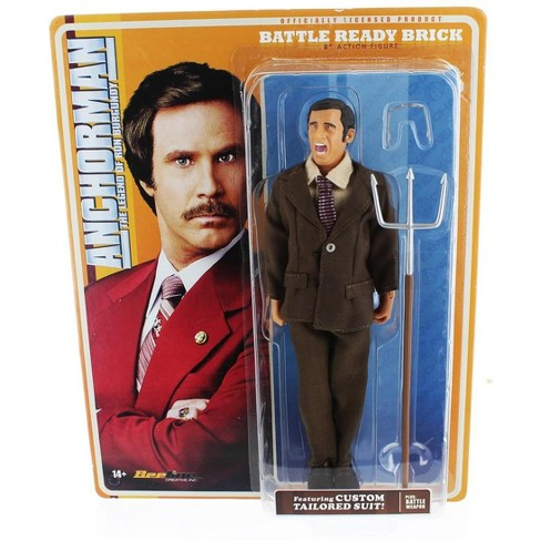 Seven20 Anchorman 8-Inch Action Figure: Battle Ready Brick - image 1 of 2
