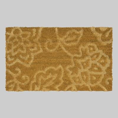 18  x 30  Vintage Floral Outdoor Doormat - Threshold™