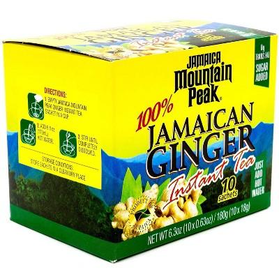 Iberia Jamaica Mountain Peak Jamaican Ginger Instant Tea 10pk - 6.3oz