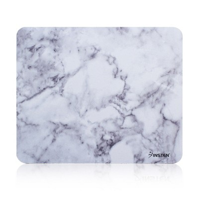 Insten Marble Mouse Pad for Laptop with Nonskid Rubber Base Waterproof Coating Mousepad Mat Computer Desk PC Gaming (8.6 inch x 7 inch)