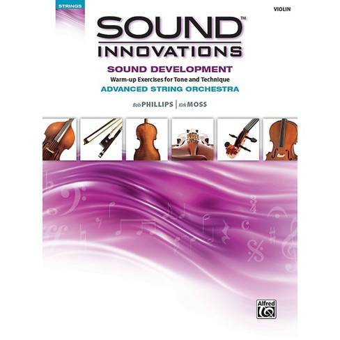 Alfred Sound Innovations String Orchestra Sound Development Advanced Violin Book - image 1 of 1