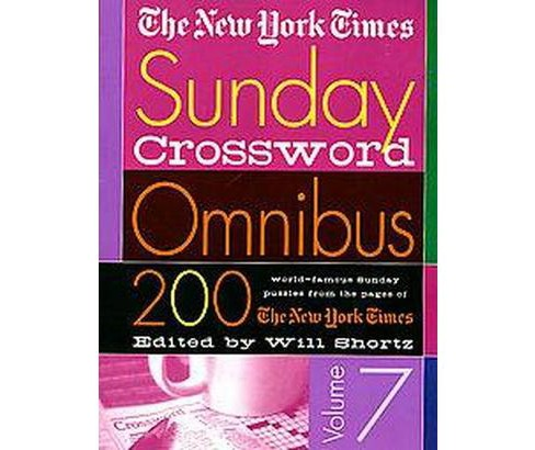 The New York Times Sunday Crossword Omnibus (7) (Paperback) - image 1 of 1