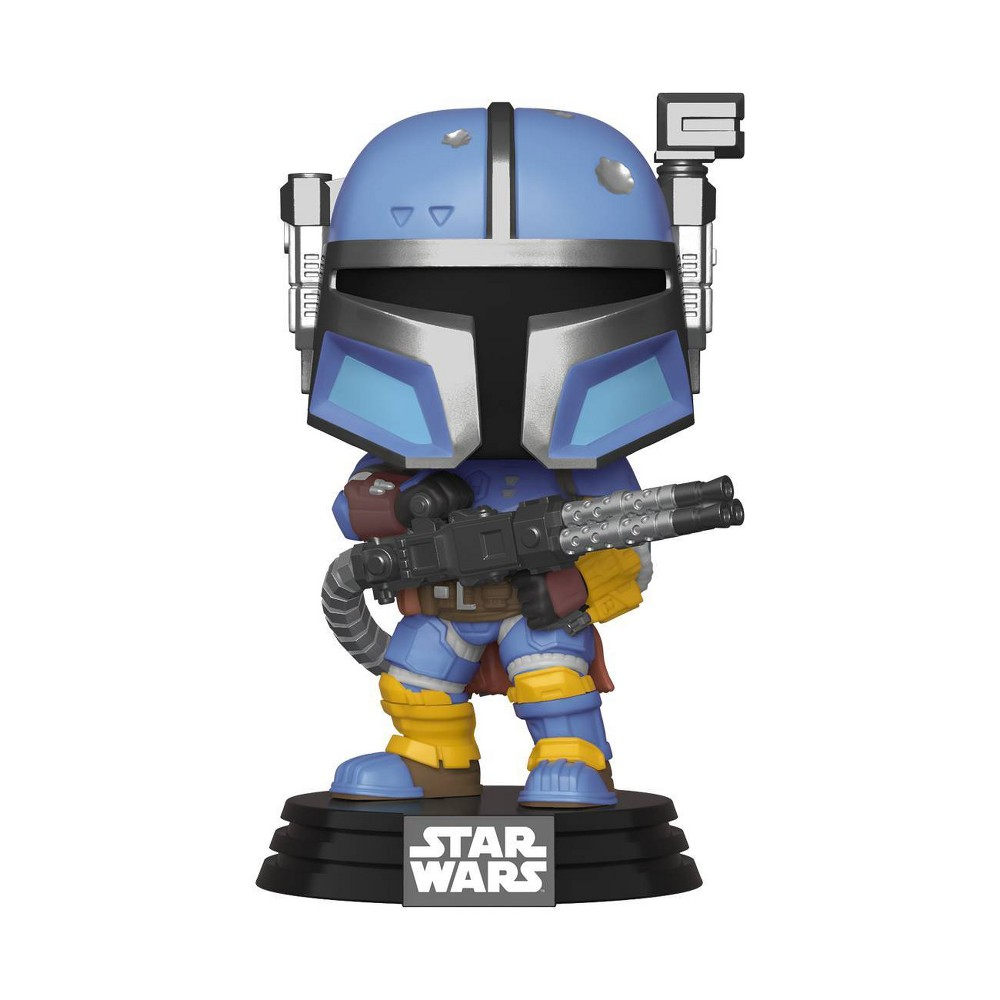 UPC 889698455404 product image for Funko POP! Star Wars: The Mandalorian - Heavy Infantry Mandalorian | upcitemdb.com