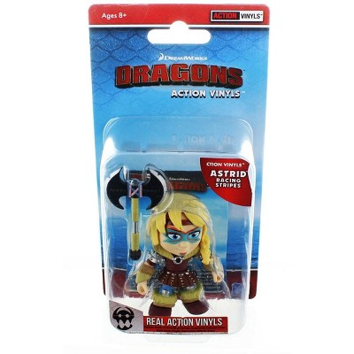 "The Loyal Subjects How To Train Your Dragon 3.25"" Action Vinyl: Astrid (Racing Stripes)"