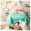 Tassel Bed Canopy One Size White - Pillowfort™ - image 4 of 4