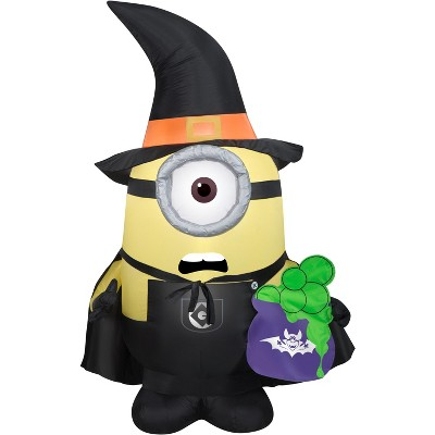 Gemmy Airblown Stuart as Witch Universal, 3.5 ft Tall, Multicolored