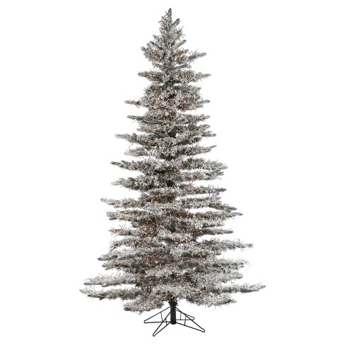 about this item - White Flocked Christmas Trees