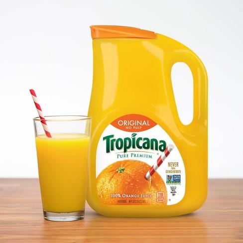 Tropicana Pure Premium No Pulp Pure 100% Florida Orange Juice - 89 fl oz