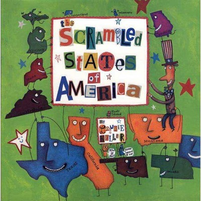 The Scrambled States of America - (Avenues) by  Laurie Keller (Paperback)