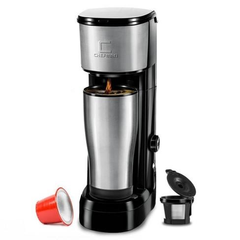 Chefman InstaBrew Single-Serve K-Cup Coffee Maker - Black - image 1 of 4