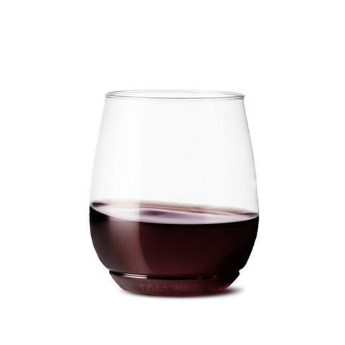9f5f2e2f54 14oz Vino Plastic Wine Glass Set Of 12 - TOSSWARE   Target