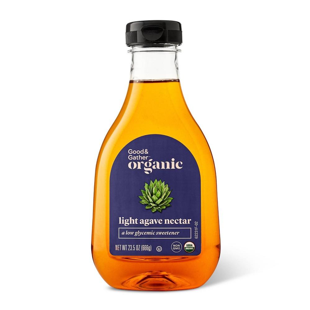 Organic Agave Nectar Light 23 5oz Good 38 Gather 8482