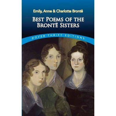 Best Poems of the Brontë Sisters - (Dover Thrift Editions) (Paperback)