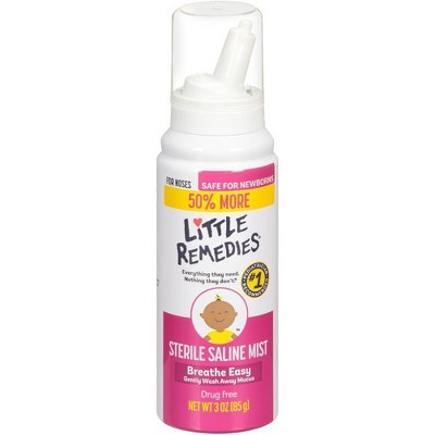 Little Remedies Safe for Newborns Sterile Saline Nasal Mist - 2 fl oz