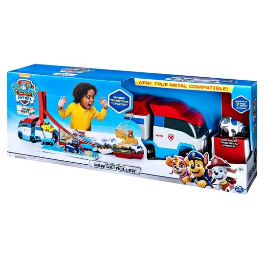 PAW Patrol Launch'N Haul Patroller Transforming Track Set image number null