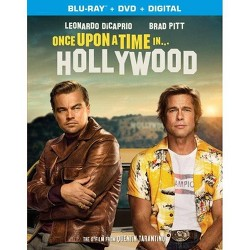 Once Upon A Time In Hollywood (Blu-Ray + DVD + Digital)