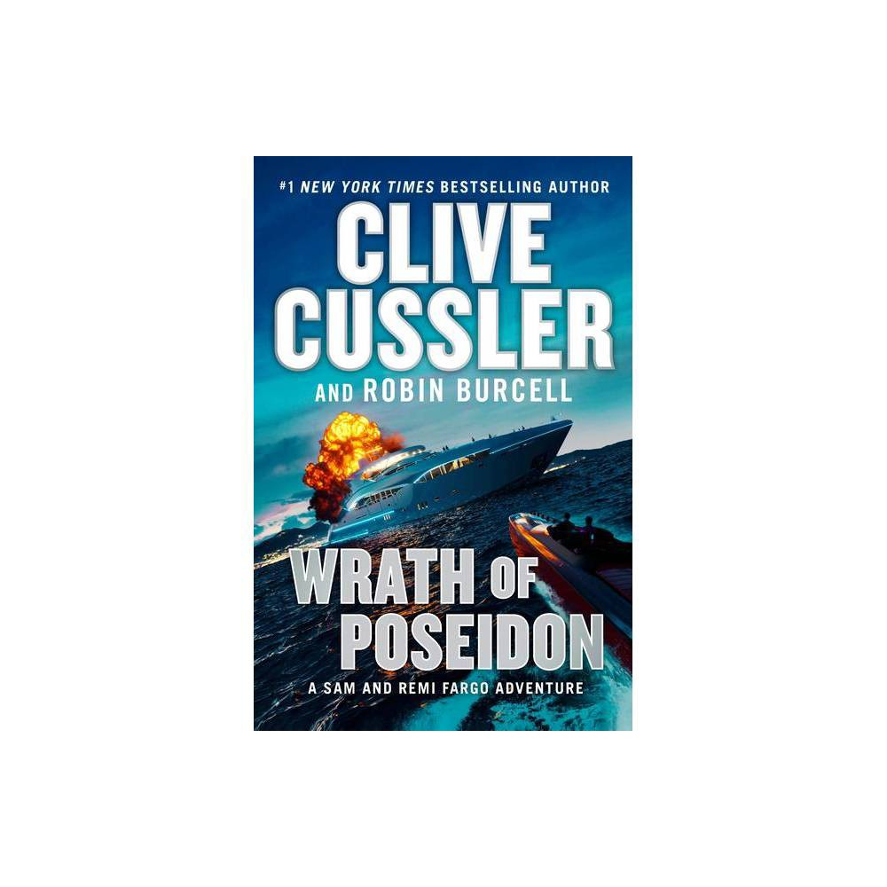 Wrath Of Poseidon Sam And Remi Fargo Adventure By Clive Cussler Robin Burcell Hardcover