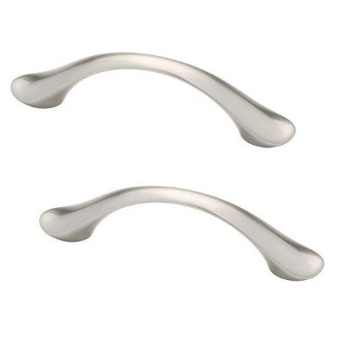 "Liberty Hardware 3"" Dual Mount Vuelo Pull - Satin Nickel (Set of 2) - image 1 of 1"