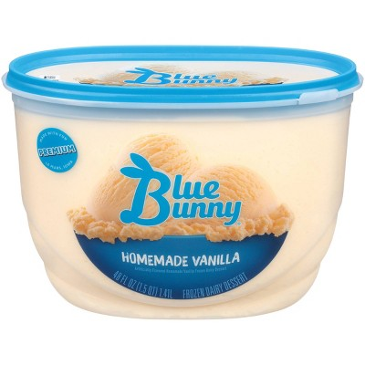 Blue Bunny Homemade Vanilla Ice Cream - 48 fl oz