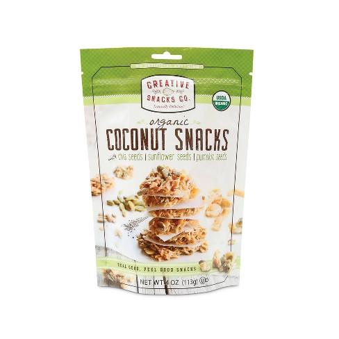 Creative Snacks - Organic Coconut Snacks - 4oz - image 1 of 4