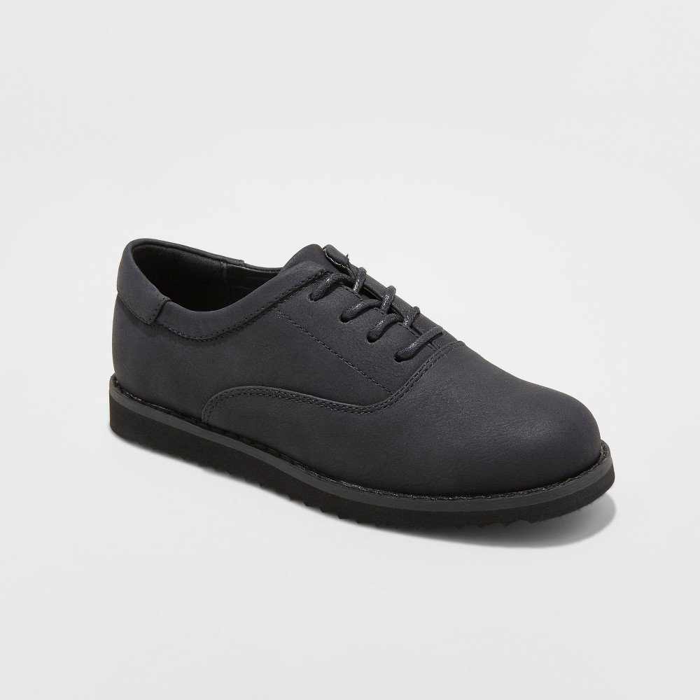 Boys' Glen Dress Shoes - Cat & Jack Black 13
