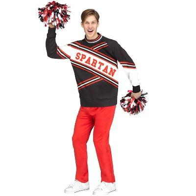 Saturday Night Live Deluxe Male Spartan Cheerleader Adult Costume