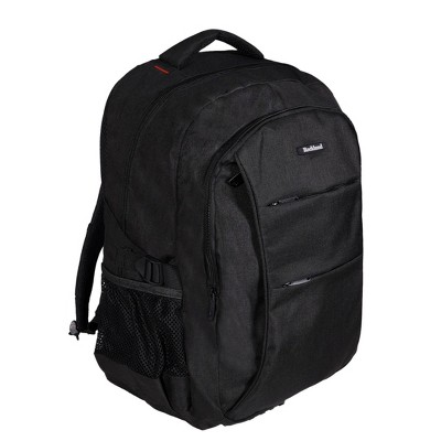 Rockland 19'' Business Pro USB Laptop Backpack - Black