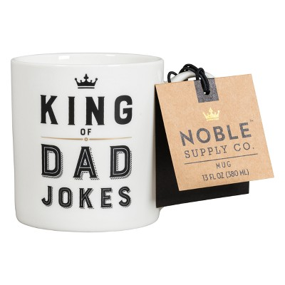 King Of Dad Jokes Mug - Noble Supply Co.