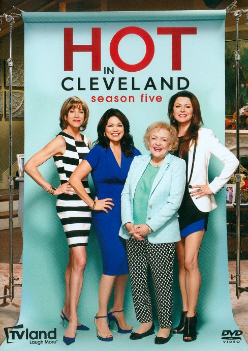 Hot in cleveland:Season five (DVD) - image 1 of 3