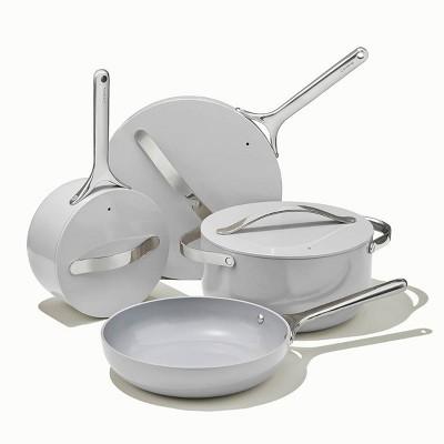 Caraway Home 7pc Non-Stick Cookware Set - Gray