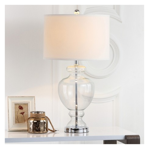 Clear Glass Table Lamp Clear Set Of 2 Safavieh Target