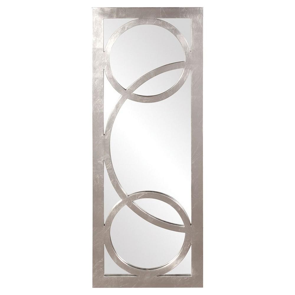 Rectangle Dynasty Decorative Wall Mirror Silver - Howard Elliott