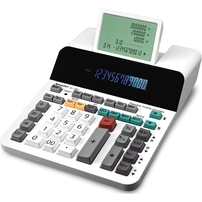 Sharp EL-1901 Paperless Printing Calculator with Check and Correct 12-Digit LCD EL1901