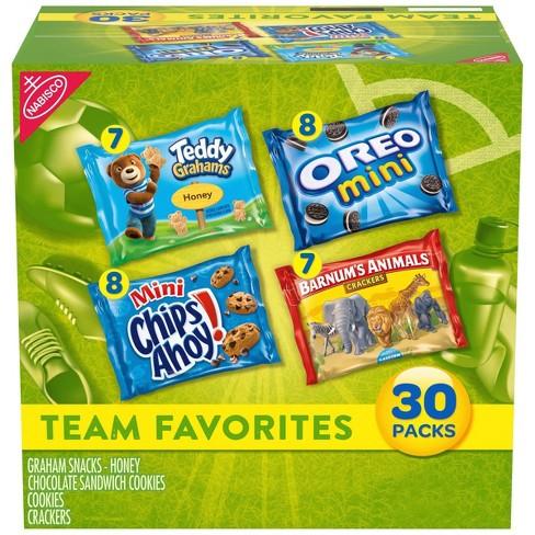 Nabisco Team Favorites Variety Pack - 30ct - image 1 of 4