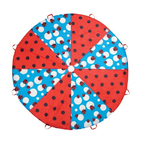 Pacific Play Tents Kids Ladybug Parachute 8 Ft - image 1 of 4