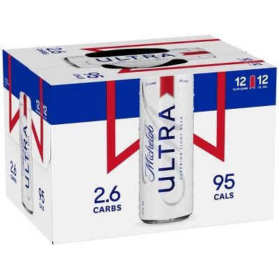 Michelob Ultra Superior Light Beer - 12pk/12 fl oz Cans