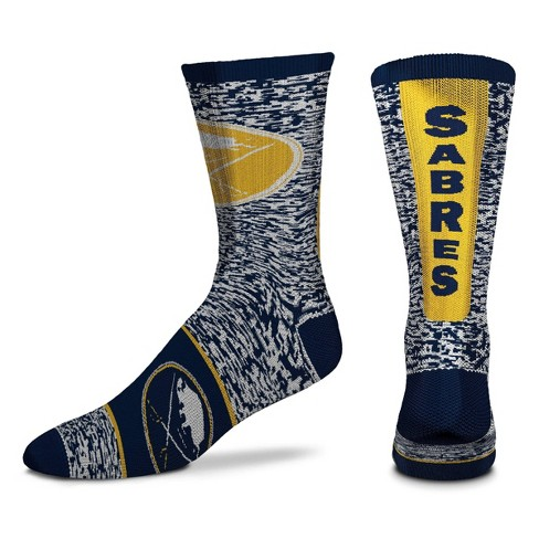 NHL Buffalo Sabres Adult Male Casual Socks - L - image 1 of 1