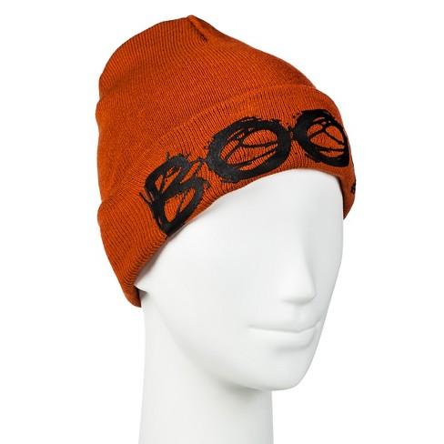 Women s Halloween Boo Hat Orange - Manhattan Hat Co   Target 0c1f29099