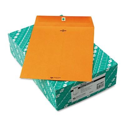 Quality Park Clasp Envelope 10 x 13 32lb Light Brown 100/Box 37797