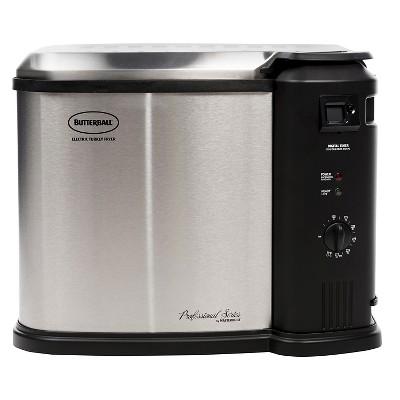 indoor-Masterbuilt® Butterball® Indoor 20lb XL Stainless Steel Electric Fryer