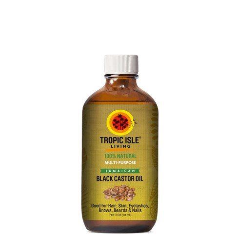 Tropic Isle Jamaican Black Castor Oil - 4oz - image 1 of 3