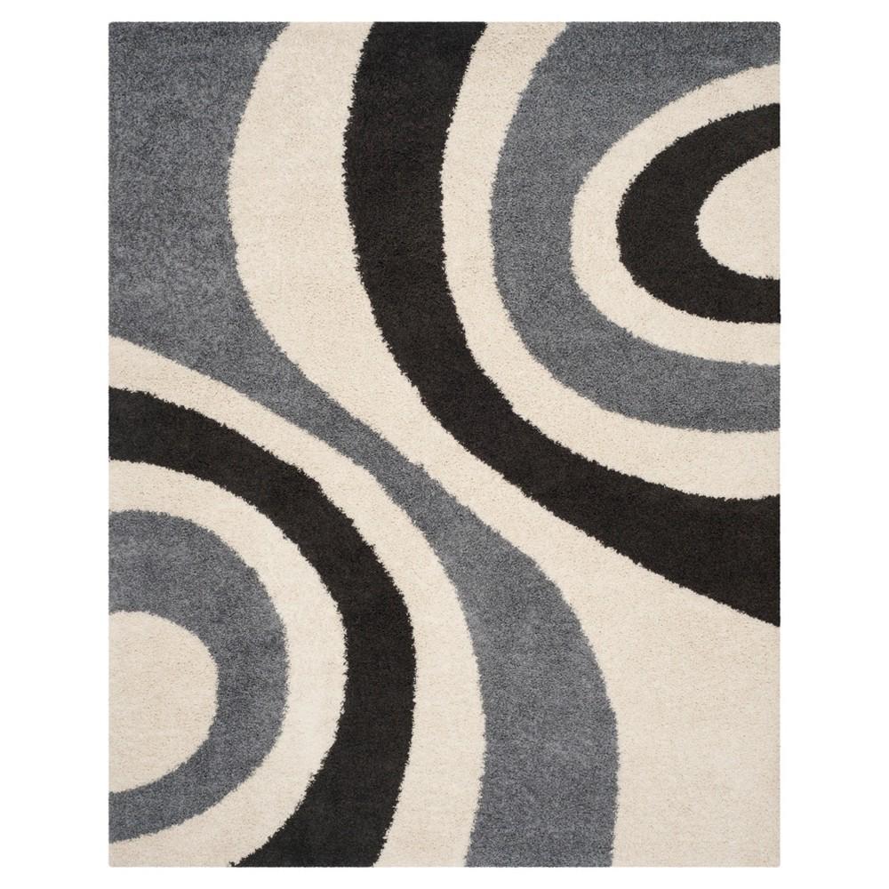 Kitson Area Rug - Ivory / Gray (8' X 10' ) - Safavieh