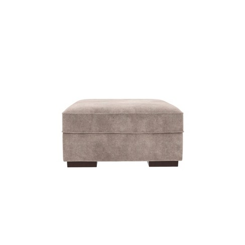 Pleasing Bardarson Storage Ottoman Silver Signature Design By Ashley Gmtry Best Dining Table And Chair Ideas Images Gmtryco