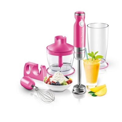 Sencor 6-Speed Stick Blender with Accessories - Pink