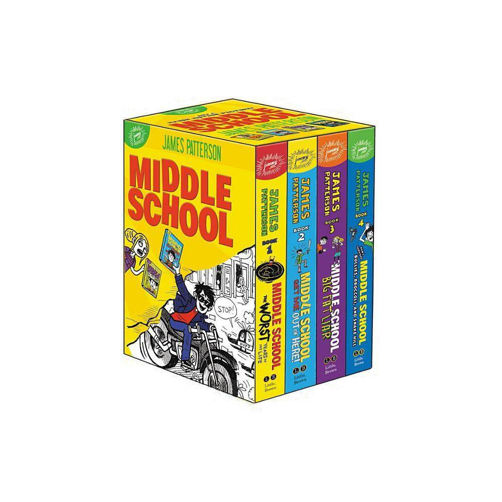 Middle School Box Set By James Patterson Chris Tebbetts Laura Park Hardcover