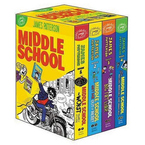 Middle School Box Set - by  James Patterson & Chris Tebbetts & Laura Park (Hardcover) - image 1 of 1