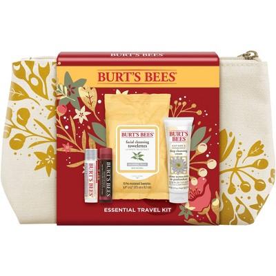 Burt's Bees Essential Travel Kit - 4ct/1.05oz
