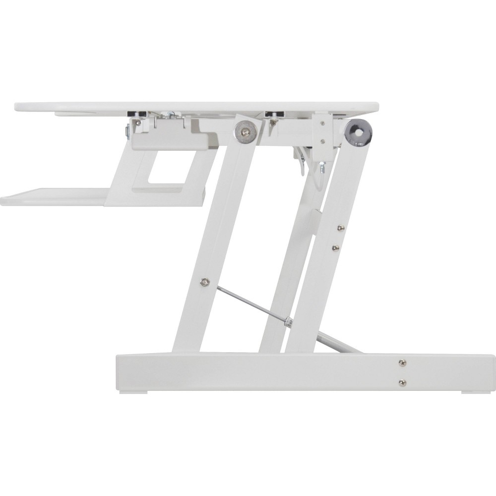 Image of Lorell Adjustable Desk Riser Plus - White