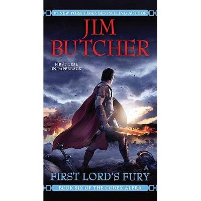 First Lord's Fury - (Codex Alera) by  Jim Butcher (Paperback)