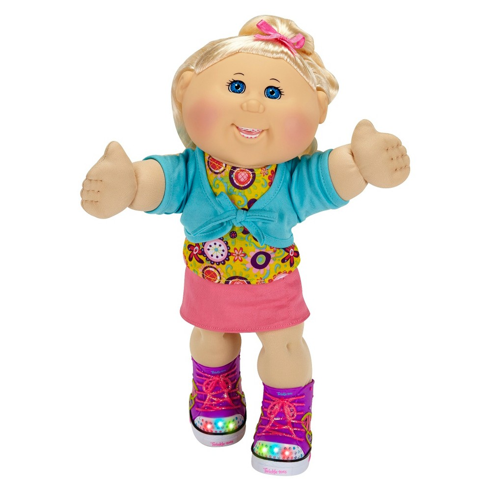 Cabbage Patch Kids Twinkle Toes 14 Kid, Blonde, Blue Eyes, Caucasian